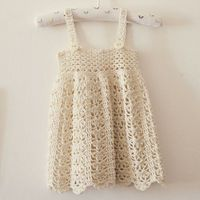 #CrochetingPattern - Get this adorable Sarafan Dress Pattern by indie designer MonPetitViolon on sale for just $2.50! The Craftsy Pattern Store is completely free, so all proceeds go directly to the designer! Click the image to get your pattern now and st...