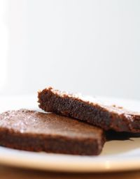 Brownies made from scratch in 5 minutes