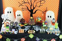 A Bright Child Friendly Halloween Party