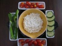 Ranch Cottage Cheese Dip, for veggies