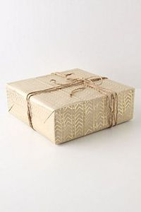 Neat wrapping idea - could draw this by hand