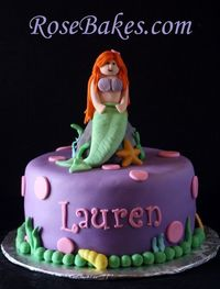 A Mermaid Cake