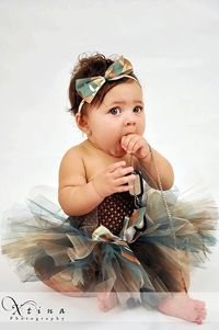 Adorable Camouflage Girly Girl Tutu Skirt & by divatutucouture, $15.95