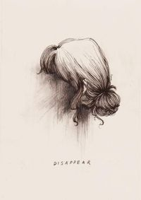 Disappear.