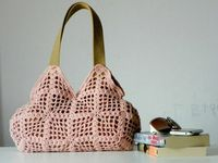 Spring New Season Crochet bag Shoulder Bag Nr0234 by NzLbags, $55.00