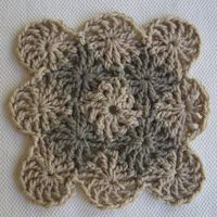 Wheel Stitch Block ~Tutorial { by CrochetDad}