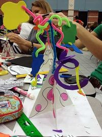 August's Primary Art Teacher Workshop: How to Make a Paper Stabile