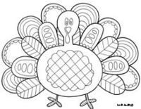 Free doodle coloring pages.
