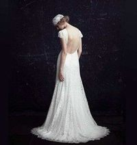 1920's styled #wedding #dresses by Johanna Johnson