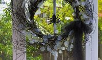 Halloween Decorations: Twig Wreaths