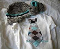 Newborn picture outfit