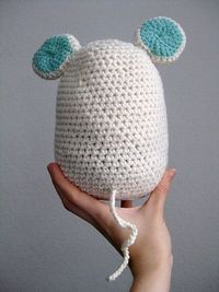 The cutest mouse doorstop pattern