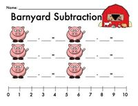 4 page pack that lets your kiddos practice their subtraction fluency skills by identifying and writing subtraction sentences.