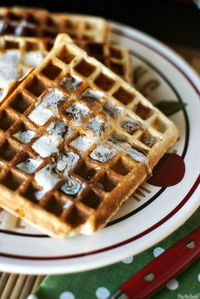 Now that I have a nice waffle iron, I will be making these.