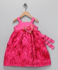 Take a look at this Fuchsia Floral Dress - Infant, Toddler & Girls by C'est Chouette on #zulily today!