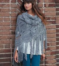 Free pattern for lacey shawl