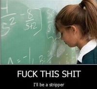 Me every single day doing math. Sorry for the language.