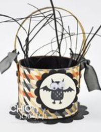 Halloween Toilet Roll Basket