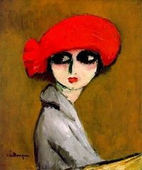 Coquelicot, Kees van Dongen, 1919, oil on canvas.