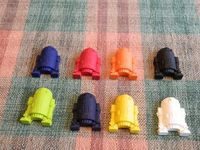 Star Wars R2D2 Crayons Recycled/Upcycled by tammiescreations, $2.50