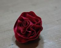 PartiCraft (Participate In Craft): My Ribbon Flower Tutorial