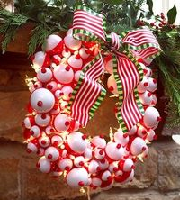 Fish-Bobber Wreath
