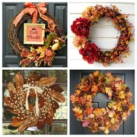 Traditional Fall Wreaths
