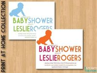 Cute printable baby shower invite