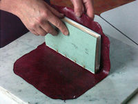 Website with Bookbinding and book repair techniques.. has video!