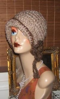 1920's Crochet Cloche Flapper Style Hat Pattern~$3.00