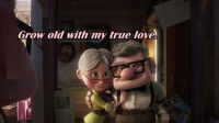 I love up! I say this all the time, I want a relationship like Carl and Ellie...