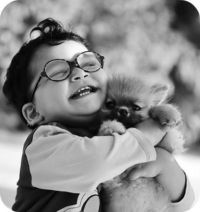 His best friend...#cute #baby #pictures