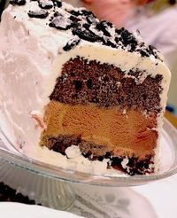 How to make this ice cream cake!