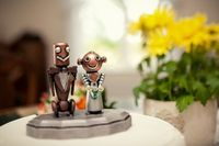 robot cake toppers.