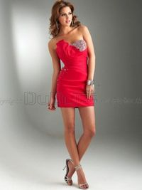 Free Shipping Sheath/Column Taffeta Asymmetrical Collar Short/Mini Prom/Evening Dresses With Beading