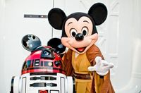 Star Tours 2 R2D2 Mickey Mouse