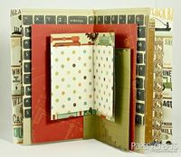 Summer memory book how-to from
