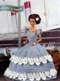 free crochet barbie wedding dresses patterns