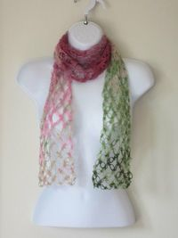 Posts similar to: Summer Scarf Crochet love knot scarf in pinks by