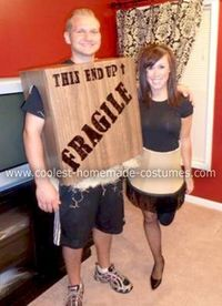 a christmas story leg lamp fragile box halloween costume for couple pair with ralphie bunny