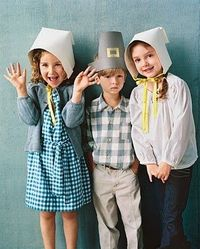 Pilgrim hat printables - cute!