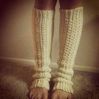 awesome crochet legwarmers