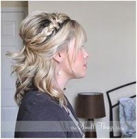Wedding hair hair