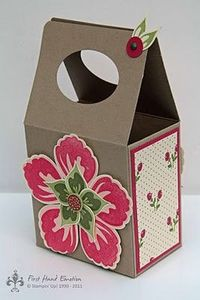 Stampin' UP! Build a Blossom Box