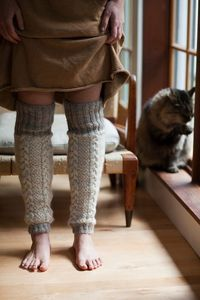 Legwarmers by Allison Reilly