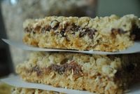 Chocolate Chip Marshmallow Oat Bars