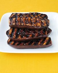 Hoisin-Grilled Eggplant - super for summer!