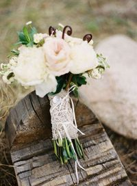 lace and burlap wrap