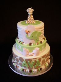 Safari kids cake