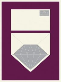 Diamond envelope.